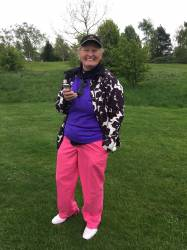 On course reporter - Doreen Brown
