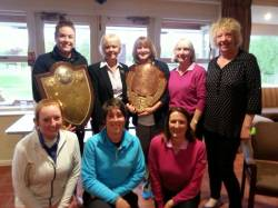 Scratch and Handicap Club Shield Winners from Cosby Golf Club