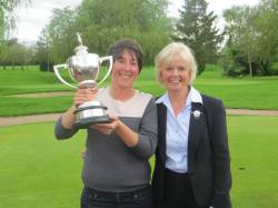 County Champion Receives Trophy