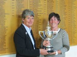 2013 County Champion receiving her trophy