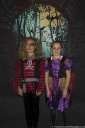 more Halloween Golfers enjoying the Presentation Night