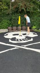 Pirate golf !!