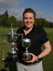 2017 County Champion and Strokeplay Champion - Caz Parkes-Walley (Cosby)