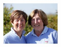 Jo Corlett and Lynn Gray - Event Organisers