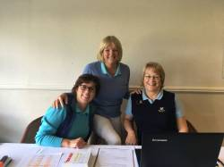 The Registration Table - the calm before  the storm