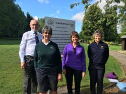 A warm welcome to the Players