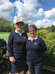 -- Ladies from Scraptoft playing and supporting their club which hosted the Club Championships in 2017