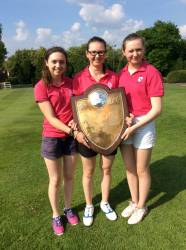 Winners of the scratch shield
