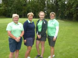 Lingdale team: Sue Holwell, Sarah Bowler, Olivia Barrs, and Barbara Suffolk