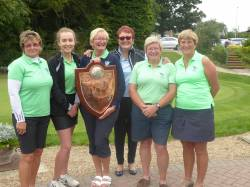 2017 Ladies County Foursomes winners - Lingdale Golf Club