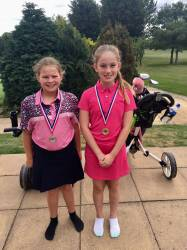 Lucy and Amelie are winners at Hinckley!!