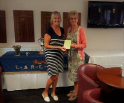 Runner Up Maggie Turton