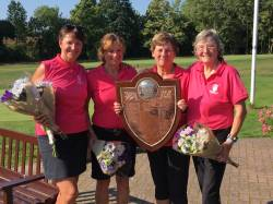 2018 Ladies County Foursomes Champions Kirby Muxloe