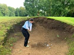 Beast of a bunker! Well done Vicky!