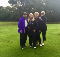 Coach Katie with Sue, Jo & Anita