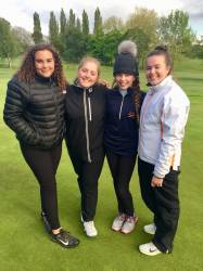 Fran, Kirsten, Eleanor & Vicky
