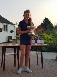Girls' County Champion Eleanor Parkinson
