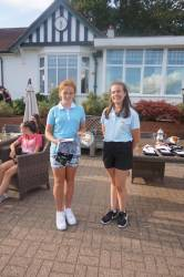 Harriet the 9 hole winner!